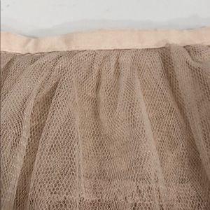 Forever 21 Skirts - Nude tule mini skirt